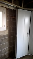 Menuiseries-bsdf.fr-PLEUDANIEL / Porte de garage/ sectionnelle latérale manuelle / 22740 PLEUMEUR GAUTIER